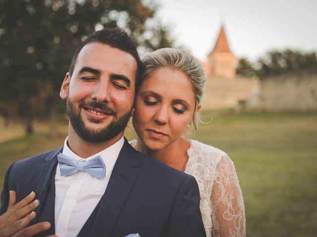 Le mariage de Alex et Julie à Saint-Gènes-de-Castillon, Gironde 34