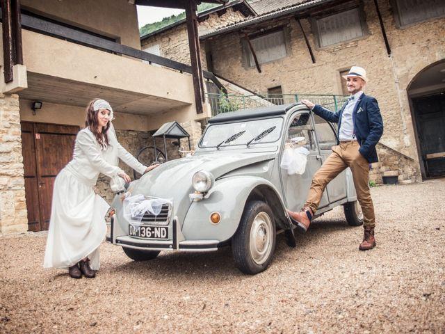 Le mariage de Simon et Noémie à Bouvesse-Quirieu, Isère 7
