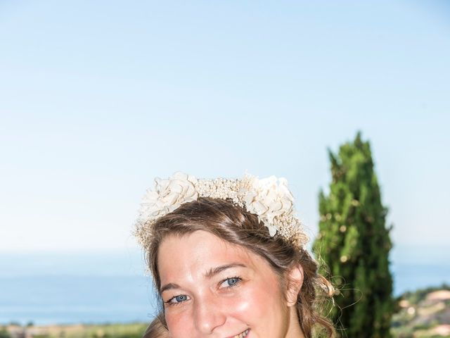 Le mariage de Mathieu et Raphaelle à Corbara, Corse 5