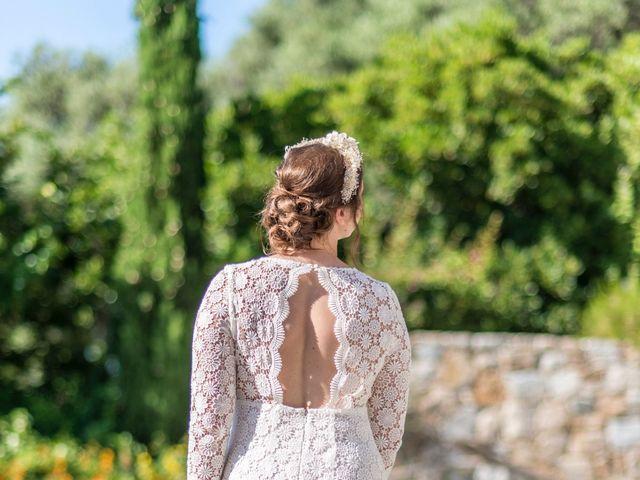 Le mariage de Mathieu et Raphaelle à Corbara, Corse 9