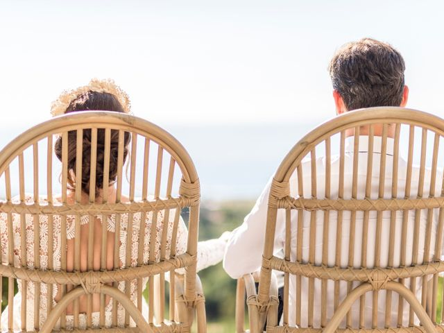 Le mariage de Mathieu et Raphaelle à Corbara, Corse 12