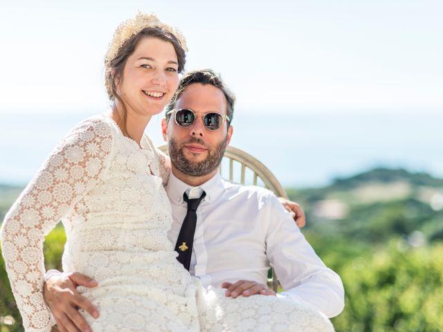 Le mariage de Mathieu et Raphaelle à Corbara, Corse 13