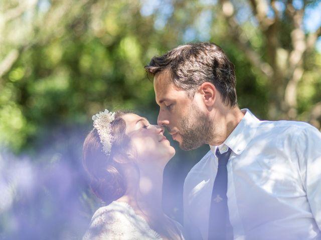 Le mariage de Mathieu et Raphaelle à Corbara, Corse 14