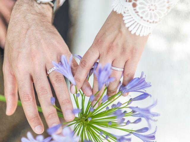 Le mariage de Mathieu et Raphaelle à Corbara, Corse 15