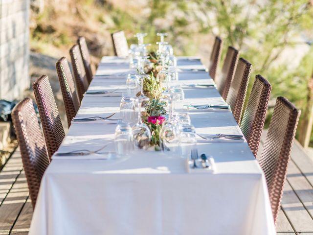 Le mariage de Mathieu et Raphaelle à Corbara, Corse 16