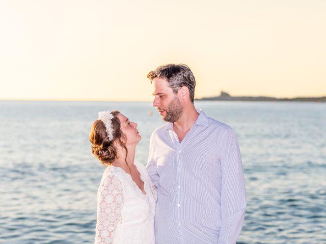 Le mariage de Mathieu et Raphaelle à Corbara, Corse 20