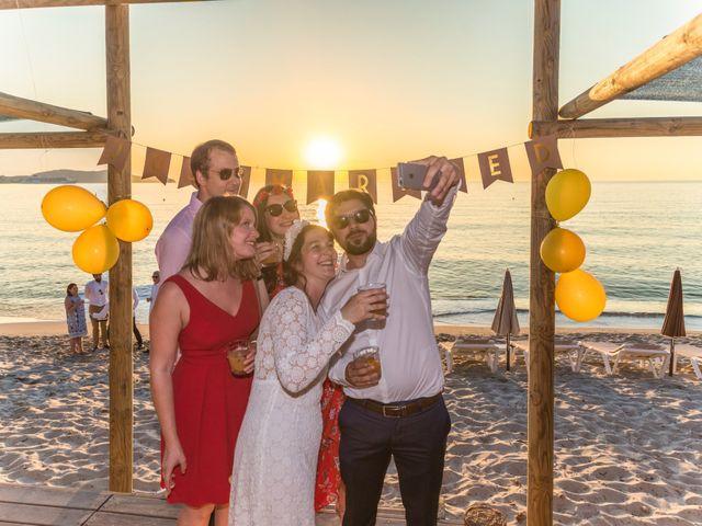 Le mariage de Mathieu et Raphaelle à Corbara, Corse 21