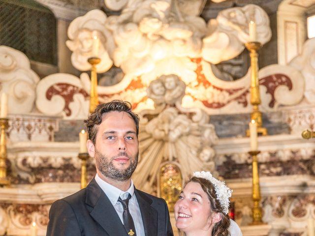 Le mariage de Mathieu et Raphaelle à Corbara, Corse 23
