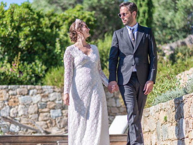 Le mariage de Mathieu et Raphaelle à Corbara, Corse 25