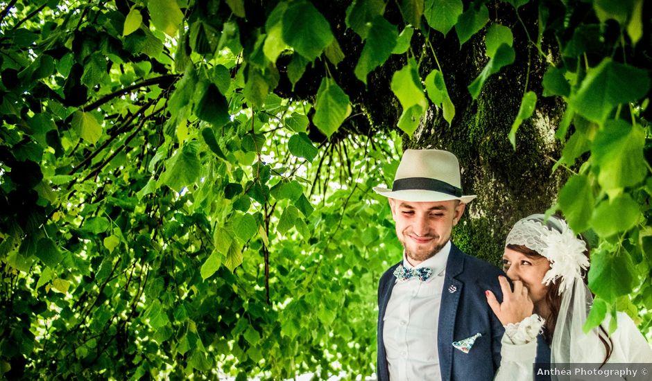 Le mariage de Simon et Noémie à Bouvesse-Quirieu, Isère