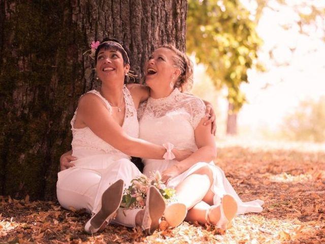Le mariage de Nadège et Magali