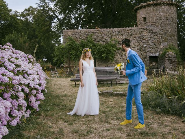 Le mariage de Vincent et Emilie à Lyas, Ardèche 18