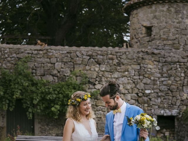 Le mariage de Vincent et Emilie à Lyas, Ardèche 20