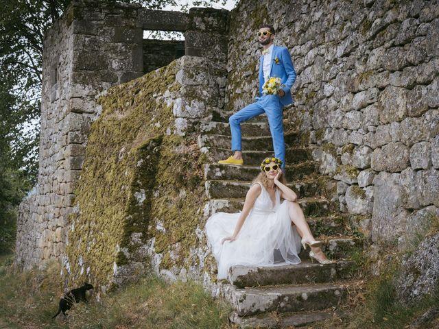 Le mariage de Vincent et Emilie à Lyas, Ardèche 35