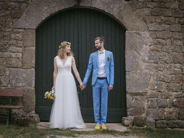 Le mariage de Vincent et Emilie à Lyas, Ardèche 36
