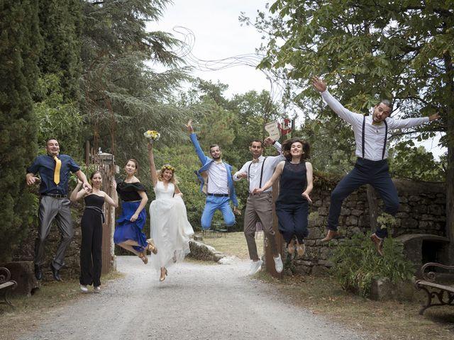 Le mariage de Vincent et Emilie à Lyas, Ardèche 38