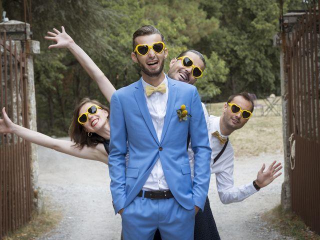 Le mariage de Vincent et Emilie à Lyas, Ardèche 40