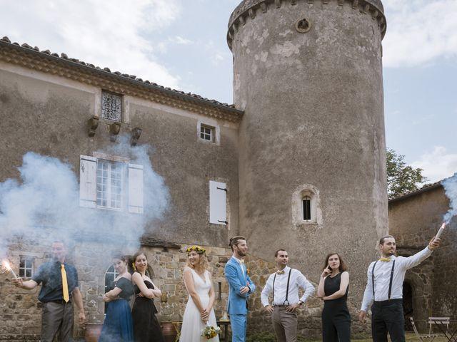 Le mariage de Vincent et Emilie à Lyas, Ardèche 42