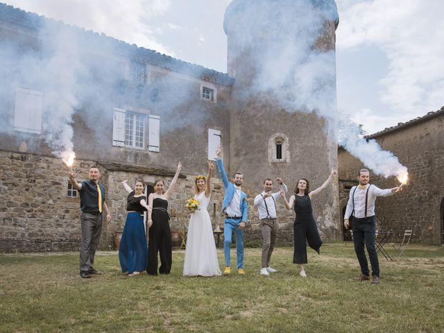 Le mariage de Vincent et Emilie à Lyas, Ardèche 43