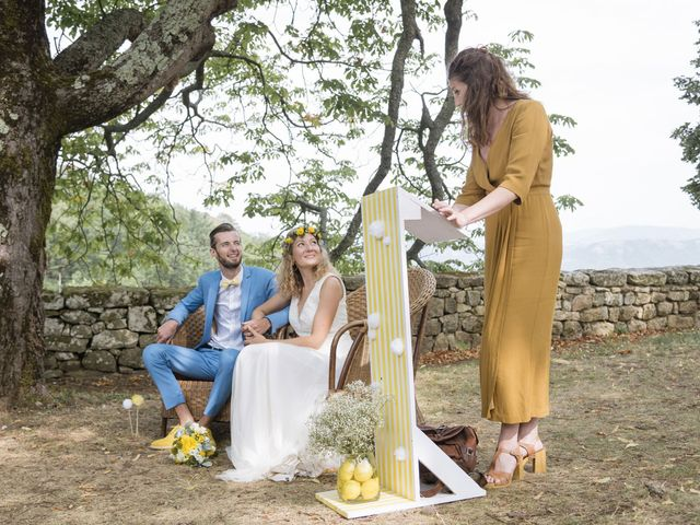 Le mariage de Vincent et Emilie à Lyas, Ardèche 75