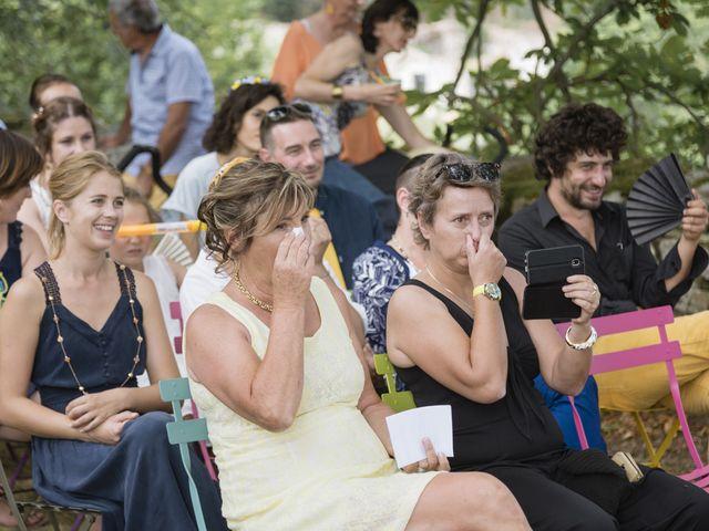 Le mariage de Vincent et Emilie à Lyas, Ardèche 84