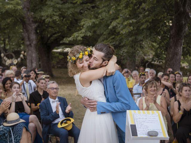 Le mariage de Vincent et Emilie à Lyas, Ardèche 90