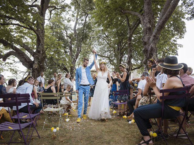 Le mariage de Vincent et Emilie à Lyas, Ardèche 93