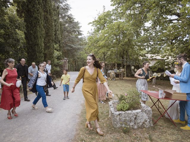 Le mariage de Vincent et Emilie à Lyas, Ardèche 98