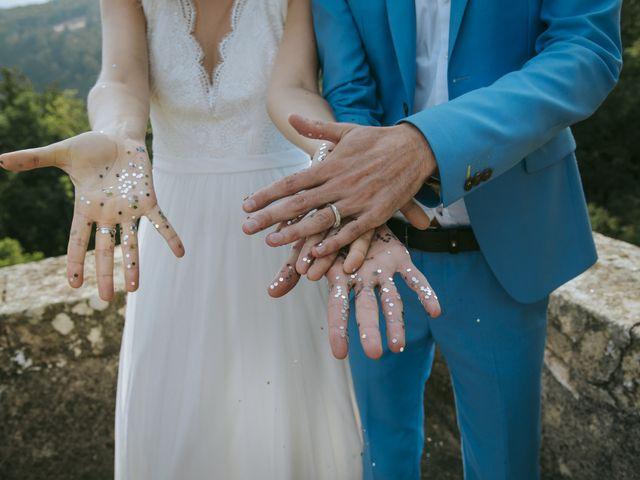 Le mariage de Vincent et Emilie à Lyas, Ardèche 106