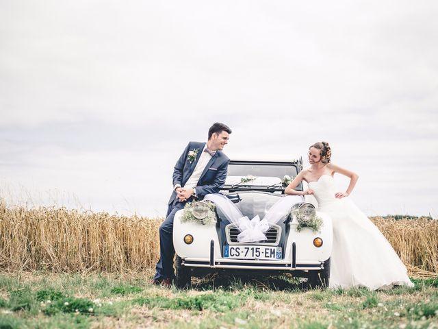 Le mariage de Nathan et Naomi à Bouquetot, Eure 18