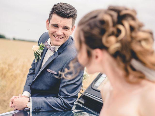 Le mariage de Nathan et Naomi à Bouquetot, Eure 19