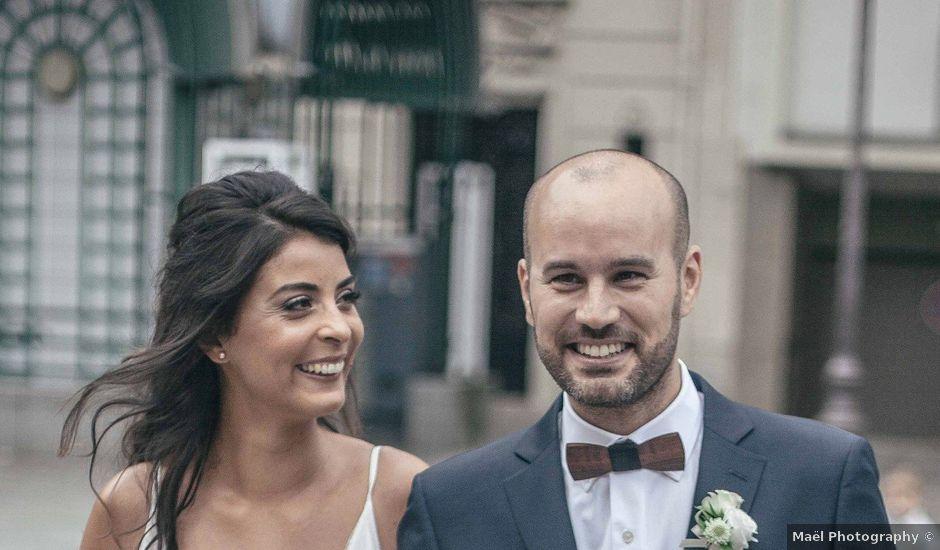 Le mariage de Miguel et Lila à Paris, Paris