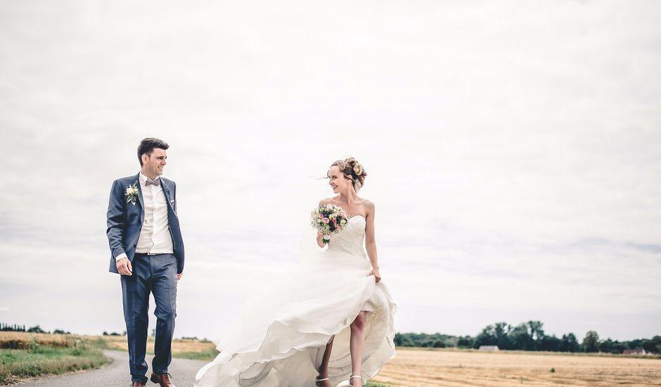 Le mariage de Nathan et Naomi à Bouquetot, Eure