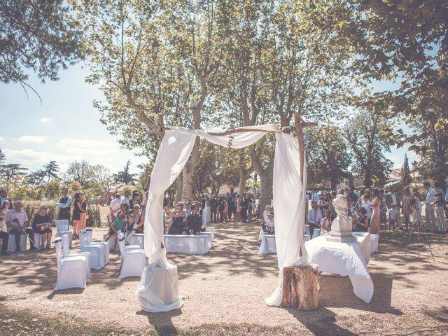 Le mariage de Sylvain et Typhanie à Saint-Andéol-le-Château, Rhône 7
