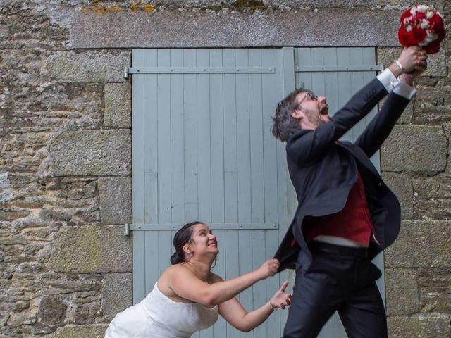 Le mariage de Audrey et Marc à Condé-sur-Sarthe, Orne 1