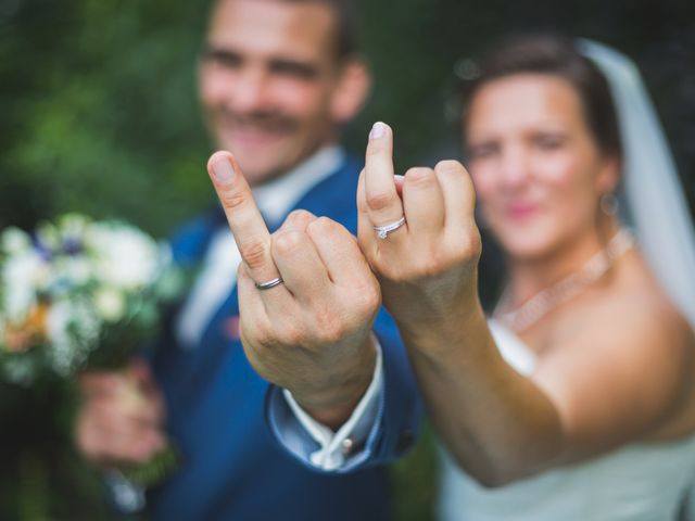 Le mariage de Celine et Morgan
