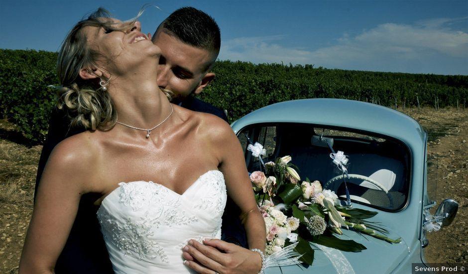 Le mariage de Geoffrey et Christelle à Saint-Satur, Cher