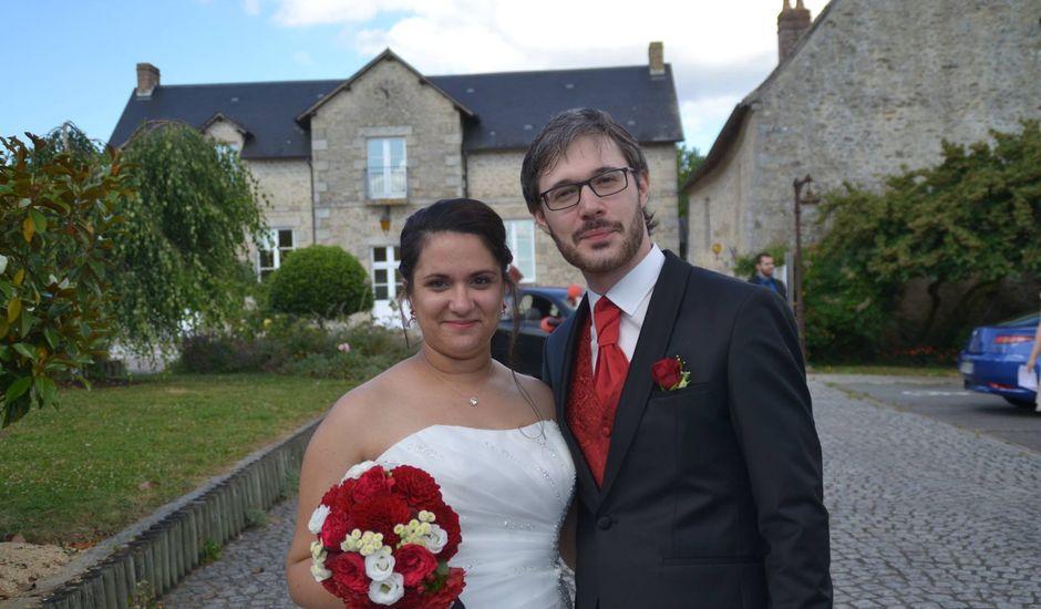 Le mariage de Audrey et Marc à Condé-sur-Sarthe, Orne