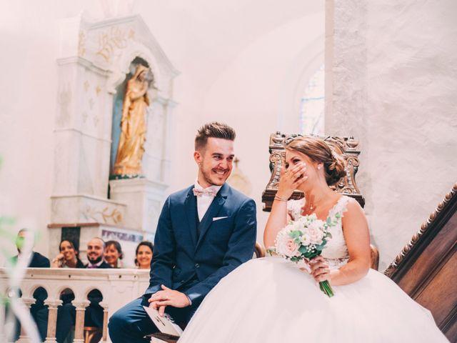 Le mariage de Lucas et Maéva à Saint-Geneys-près-Saint-Paulien, Haute-Loire 24
