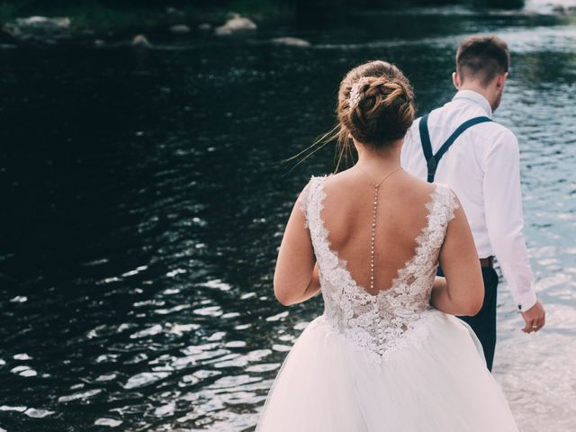 Le mariage de Lucas et Maéva à Saint-Geneys-près-Saint-Paulien, Haute-Loire 44