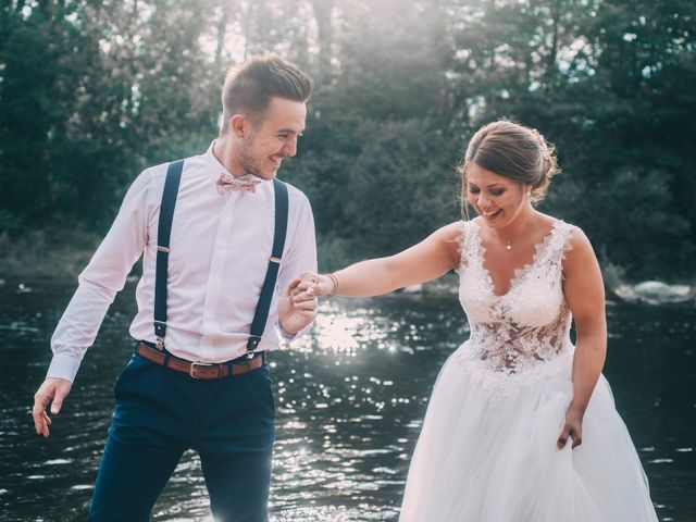 Le mariage de Lucas et Maéva à Saint-Geneys-près-Saint-Paulien, Haute-Loire 46