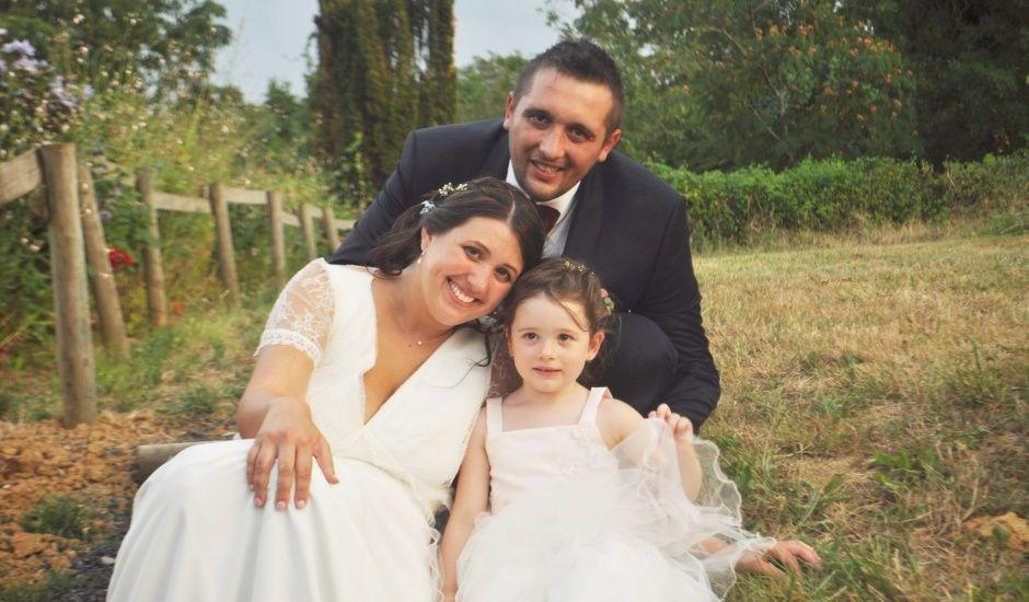 Le mariage de Christophe et Sandra  à Madiran, Hautes-Pyrénées