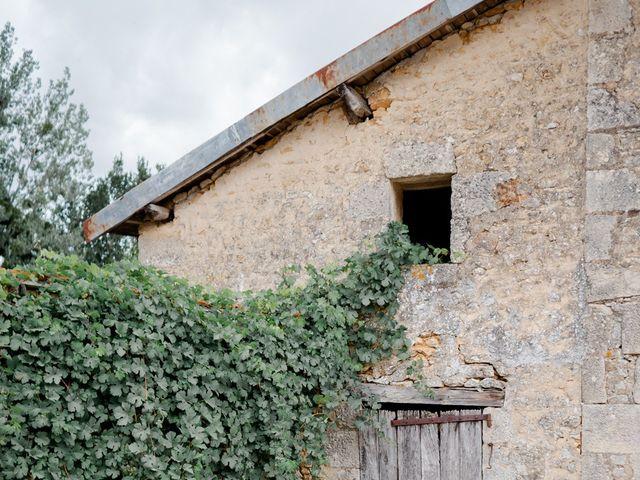 Le mariage de Mathieu et Angélique à Anché, Indre-et-Loire 3