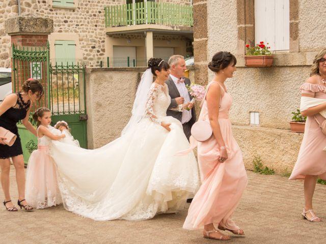 Le mariage de Greg et Laura à Loudes, Haute-Loire 5
