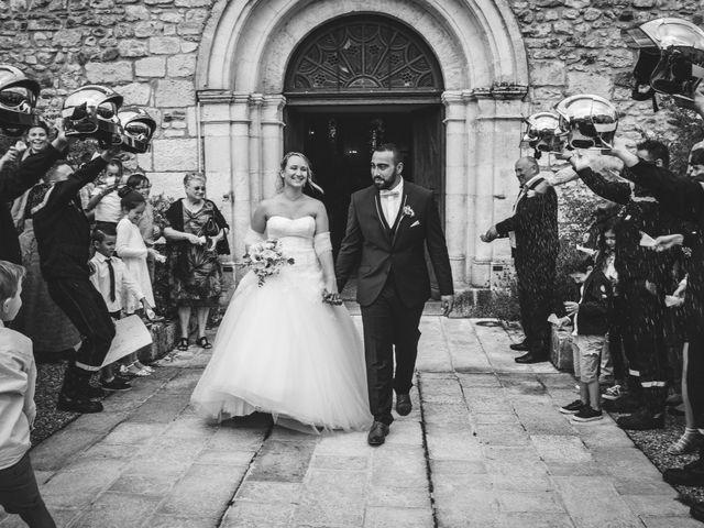 Le mariage de Guillaume et Malory à Saint-Pardoux-la-Rivière, Dordogne 24
