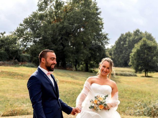 Le mariage de Guillaume et Malory à Saint-Pardoux-la-Rivière, Dordogne 34