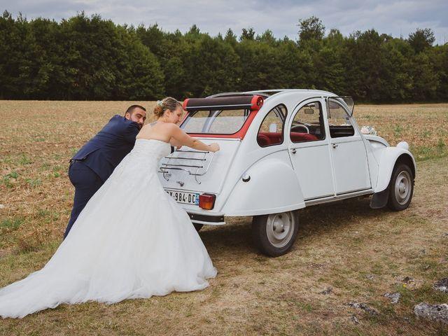 Le mariage de Guillaume et Malory à Saint-Pardoux-la-Rivière, Dordogne 35