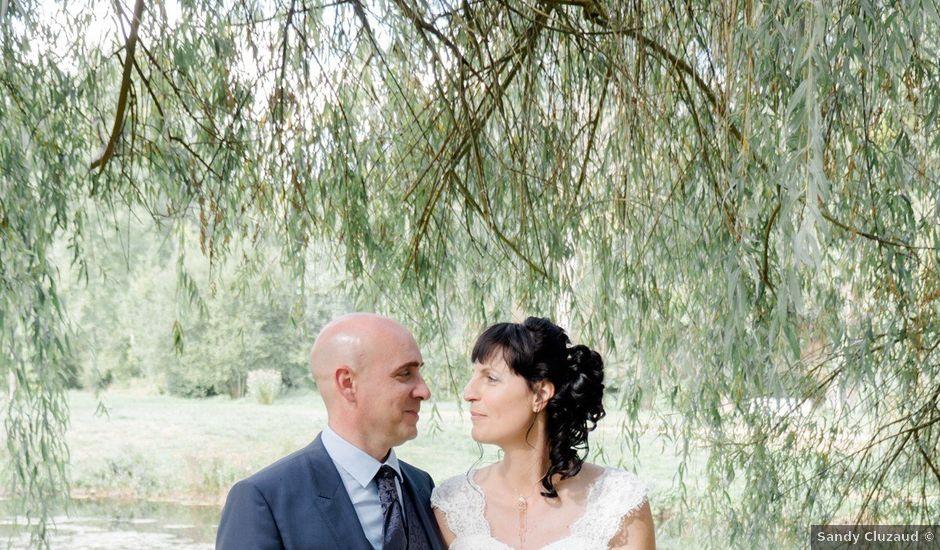 Le mariage de Mathieu et Angélique à Anché, Indre-et-Loire