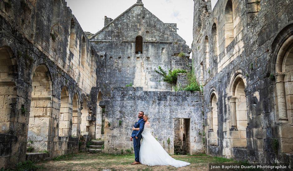 Le mariage de Guillaume et Malory à Saint-Pardoux-la-Rivière, Dordogne