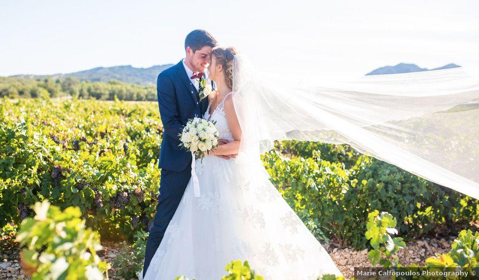Le mariage de Timothée et Agathe à Orgon, Bouches-du-Rhône